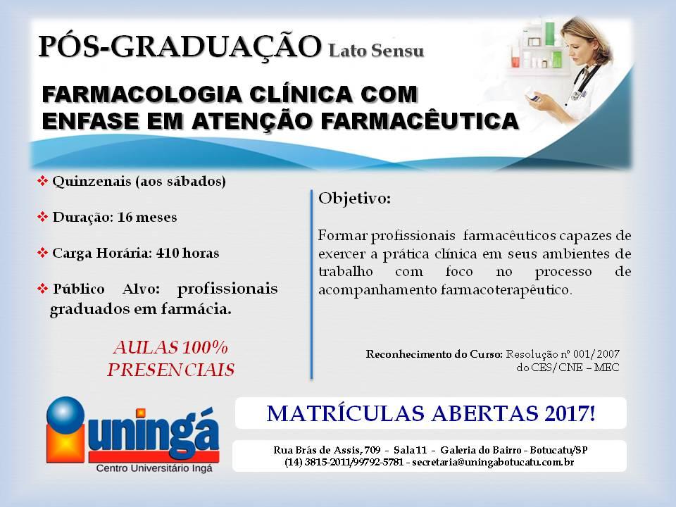 Folder - Famacologia Clínica - 10-01-17